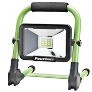 RichPower PWLR1110F PowerSmith 10 Watt 900 Lumen Rechargeable LED Work Light With USB Charging Ports