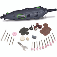 RichPower GRT2103-40 Variable Speed Rotary Tool With 40 Accessories