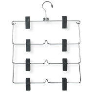 Honey Can Do HNG-01188 CHR 4Tier Skirt Hangers