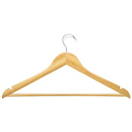 Honey Can Do HNG-01206 Maple Suit Hanger 4 Pack