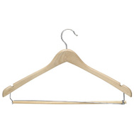 Honey Can Do HNG-01264 Maple Suit Hangers 3 Pack