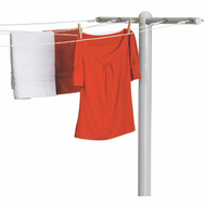 Honey Can Do DRY-01452 T Post For 5 Line Outdoor Clothes Drying White