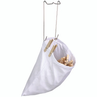 Honey Can Do DRY-01313 WHT Cott Clothespin Bag