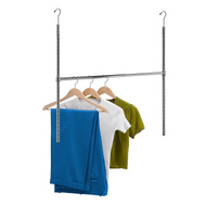 Honey Can Do HNG-01816 Closet Rod Adj Hanging Chrome