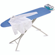Honey Can Do BRD-01956 Ironing Board 4-Leg W/Rest