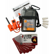 Ultimate Survival Technologies 20-02760 Fire Starting Learn Kit