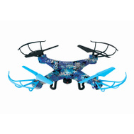 World Tech Toys 33043 Blue Camo Striker Drone