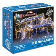 Holiday Bright Lights LEDM8-50MU-CG 50LT Mult LED LGT Set