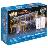 Holiday Bright Lights LEDM8TK-100WW-CG 100L WW LED Trunk Set