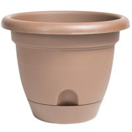 Bloem LP1045 Planter 10In Lucca Chocolate