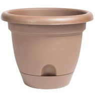 Bloem LP1245 Planter 12In Lucca Chocolate