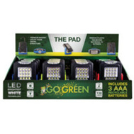 Go Green Power GG-113-23PAD Pad Light Dsp Mgntc 12Pc