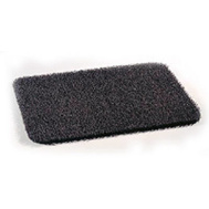 Grassworx 10372029 Clean Machine Astroturf Cinder Clean Machine Door Mat