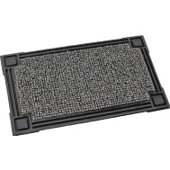 Grassworx 10374051 Clean Machine 18 Inch By 30 Inch Rubber Door Mat With Cinder Astroturf