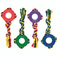 Boss Pet CTZ100M Toy Pet Rope/Rubber Tug/Toss