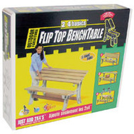 Hopkins 90110 2X4 Basics Table Bench Flip Top Sand