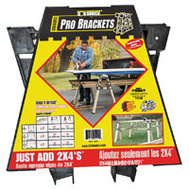 Hopkins 90194 2X4 Basics Pro Bracket Sawhorse