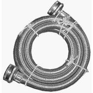Homewerks 7243-60-34-1 3/4 By 60 Stainless Steel Washmach Hose