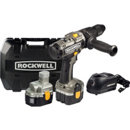 Rockwell RK2808K2 Rockwell Pro Series 18 Volt Compack Hammer Drill Kit With Case