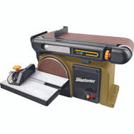 Rockwell RK7866 Rockwell Pro Series 1/2 Hp Belt Sander 6 Inch Disc 4 By 36 Belt