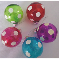 Holiday Basix C-J14031 Ornament Painted Ball 83Mm
