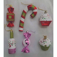 Holiday Basix ET-30282 Ornament Candy Asst