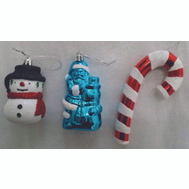 Holiday Basix ET-30287 Ornament Candy 3 Asst