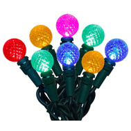 Holiday Basix U14E320D LED Light Set Multi Color 70Ct