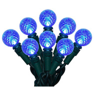 Holiday Basix U14E320B LED Light Set Blue 70Ct