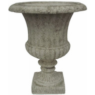 Williams Bay F212C-C16 Venetian 15 Inch WHT Urn