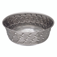 Boss Pet 7256 Bowl Diamond Plate 2Qt