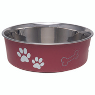 Boss Pet 7412SM Bella Bowl Bella Small Merlot