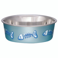 Boss Pet 7750 Bowl X-Small Skelleton Blue