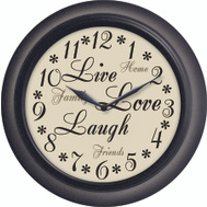 Westclox 32032 Clock Wall Inspirational 12In