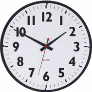 Westclox 32067 Clock Wall Commercial Rnd 14In