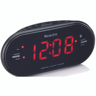 Westclox 81012BT LED Digital Radio Alarm Clock With Blue Tooth Technology