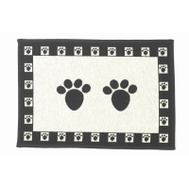 Petrageous Designs 10209 Paws 13X19 Tapestry Mat