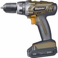 Rockwell SS2800 Shop Series 18 Volt Lithium 3/8 Inch Cordless Drill