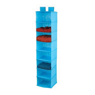 Honey Can Do SFT-02820 8 Shelf Hanging Organizer Ocean Blue