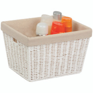 Honey Can Do STO-03560 WHT Paperrope Stor Tote