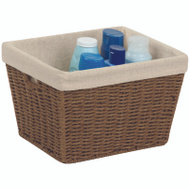 Honey Can Do STO-03565 BRN Paperrope Stor Tote