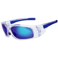 Safety Works SWX00211 Glasses Safety Blu Mirror Lens