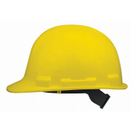 Safety Works SWX00345 V Gard Yellow Hard Hat With 1 Touch Suspension