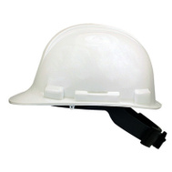 Safety Works SWX00346 White Hard Hat With Ratchet