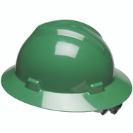 Safety Works SWX00426 Green Hard Hat With Ratchet Suspension