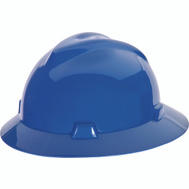 Safety Works SWX00427 Hard Hat Blue Full Brim