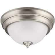 ETI Lighting 56558101 Light Spin Brushed Nickel 9In