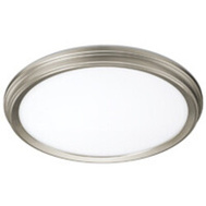 ETI Lighting 56572114 Light Surfmt Brsh Nickel 11In
