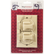 StayConnect IR300-G Ivory Decorative Safety Hook Wall Plate