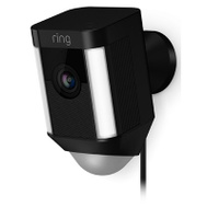 "Ring Inc 8SH1P7-BEN0 ""Ring"" Camera W/Spotlight Plug-In Blk"